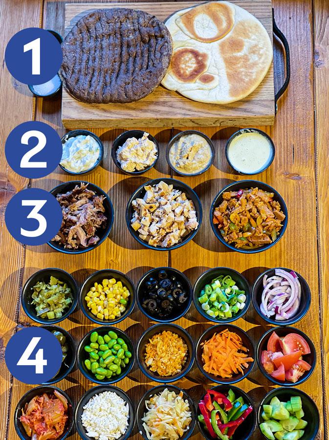 olympia-kitchen-bar-giros-schotel-toppings